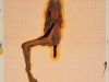 Peroli - 2007 - collage e tecnica mista su carta millimetrata - cm 40x29,5 - con pass 55x44,5