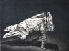 iva-santostefano-bandiera-2013-carboncino-su-legno-cm-36x35
