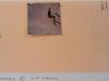 Peroli - Twombly a Piazzale Loreto 2010 - collage e tecnica mista su carta millimetrata - cm 19,5x29,5 - con pass 36x44,5